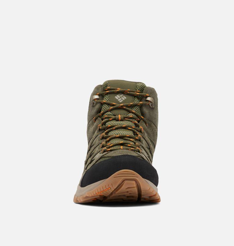 CRESTWOOD™ MID WATERPROOF WIDE | 371 | 10 Men's Crestwood™ Mid Waterproof Hiking Boot - Wide, Hiker Green, Light Orange, toe