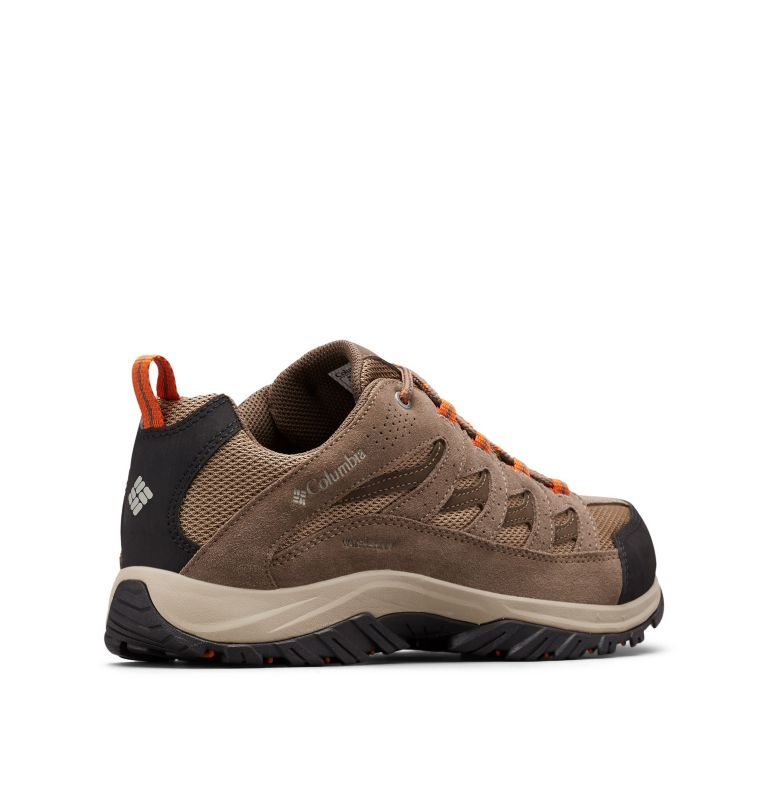 CRESTWOOD™ WATERPROOF | 227 | 8.5 Men's Crestwood™ Waterproof Hiking Shoe, Pebble, Desert Sun, 3/4 back