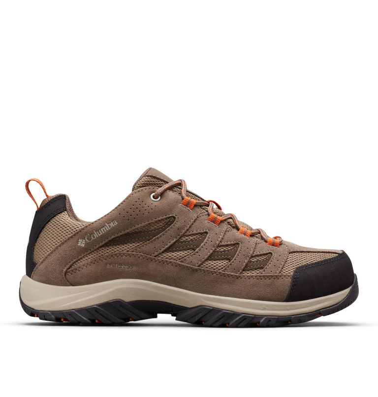 CRESTWOOD™ WATERPROOF | 227 | 12 Men's Crestwood™ Waterproof Hiking Shoe, Pebble, Desert Sun, front