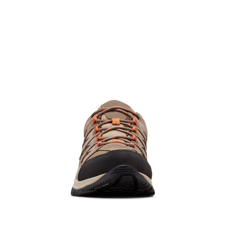 CRESTWOOD™ WATERPROOF   227   11.5 Men's Crestwood™ Waterproof Hiking Shoe, Pebble, Desert Sun, toe