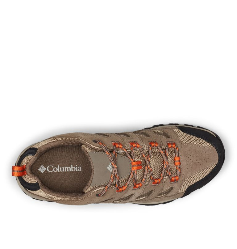 CRESTWOOD™ WATERPROOF   227   11.5 Men's Crestwood™ Waterproof Hiking Shoe, Pebble, Desert Sun, top