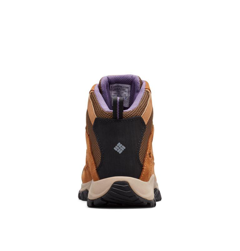 CRESTWOOD™ MID WATERPROOF   206   6 Women's Crestwood™ Mid Waterproof Hiking Boot, Dark Truffle, Plum Purple, back