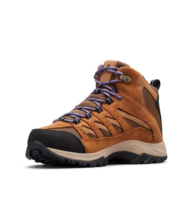 CRESTWOOD™ MID WATERPROOF | 206 | 8 Women's Crestwood™ Mid Waterproof Hiking Boot, Dark Truffle, Plum Purple