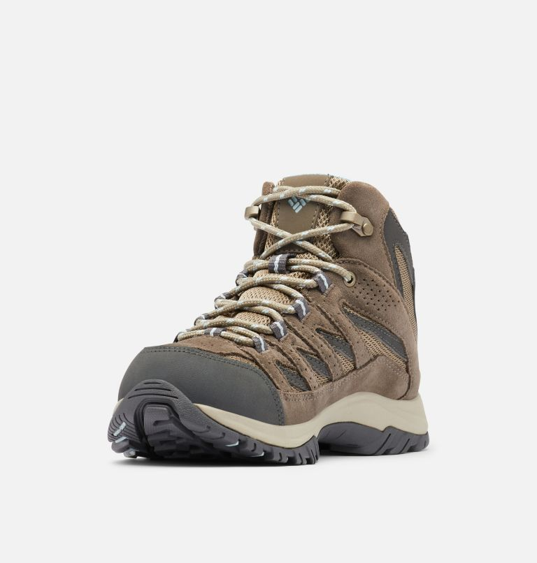 CRESTWOOD™ MID WATERPROOF | 227 | 10.5 Women's Crestwood™ Mid Waterproof Hiking Boot, Pebble, Oxygen
