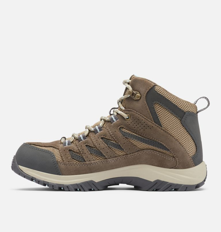 CRESTWOOD™ MID WATERPROOF | 227 | 10.5 Women's Crestwood™ Mid Waterproof Hiking Boot, Pebble, Oxygen, medial