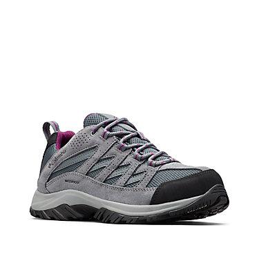 Women's Crestwood™ Waterproof Hiking Shoe CRESTWOOD™ WATERPROOF   227   10, Graphite, Wild Iris, 3/4 front