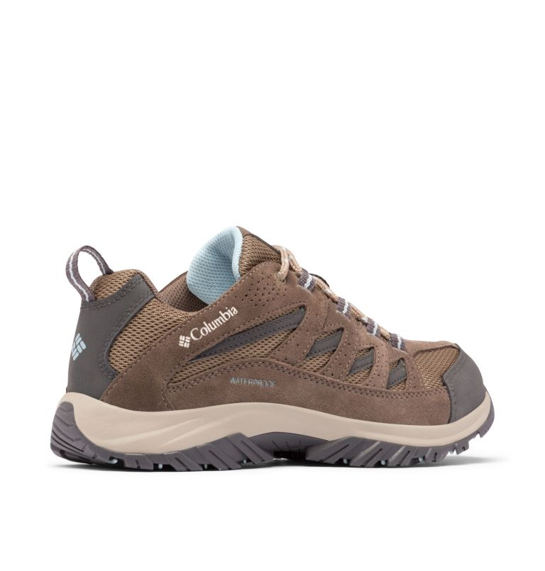 CRESTWOOD™ WATERPROOF | 227 | 6 Women's Crestwood™ Waterproof Hiking Shoe, Pebble, Oxygen, 3/4 back