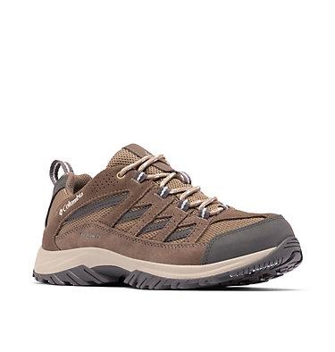 Women's Crestwood™ Waterproof Hiking Shoe CRESTWOOD™ WATERPROOF   227   10, Pebble, Oxygen, 3/4 front