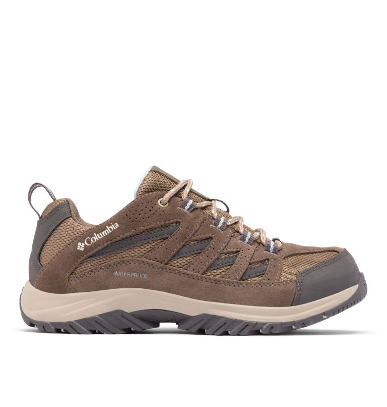 CRESTWOOD™ WATERPROOF | 227 | 6 Women's Crestwood™ Waterproof Hiking Shoe, Pebble, Oxygen, front