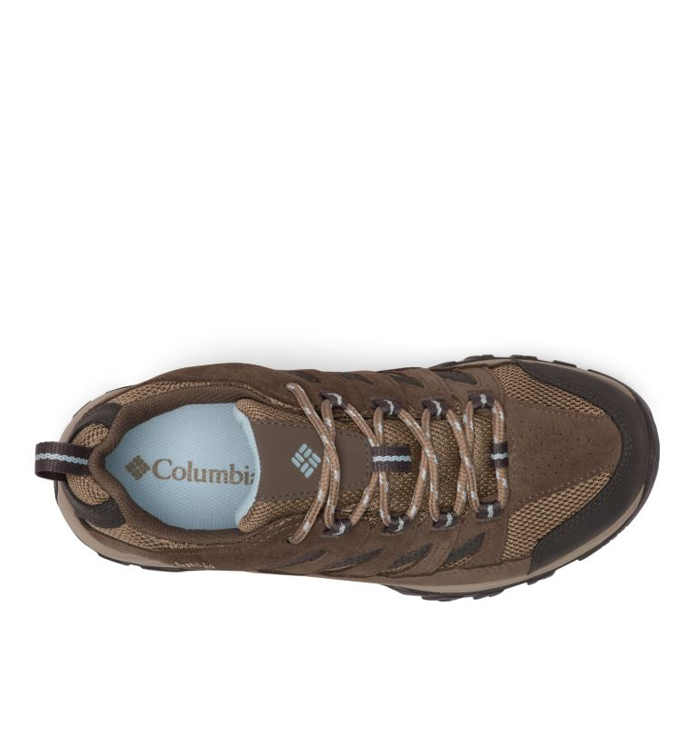 CRESTWOOD™ WATERPROOF | 227 | 6 Women's Crestwood™ Waterproof Hiking Shoe, Pebble, Oxygen, top