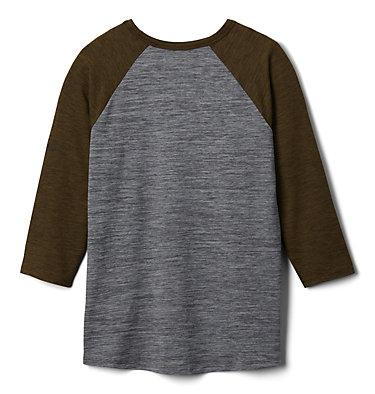 Kids' Outdoor Elements™3/4 Sleeve Shirt Outdoor Elements™3/4 Sleeve Shirt | 384 | XXS, City Grey Heather, New Olive Heather, back
