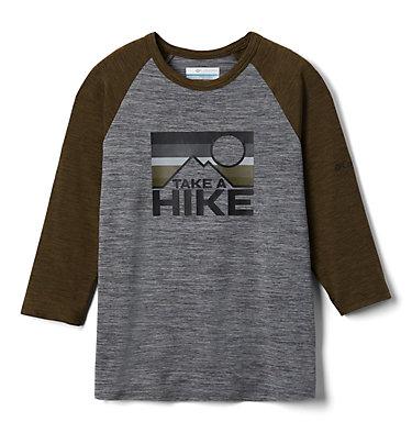 Kids' Outdoor Elements™3/4 Sleeve Shirt Outdoor Elements™3/4 Sleeve Shirt | 384 | XXS, City Grey Heather, New Olive Heather, front