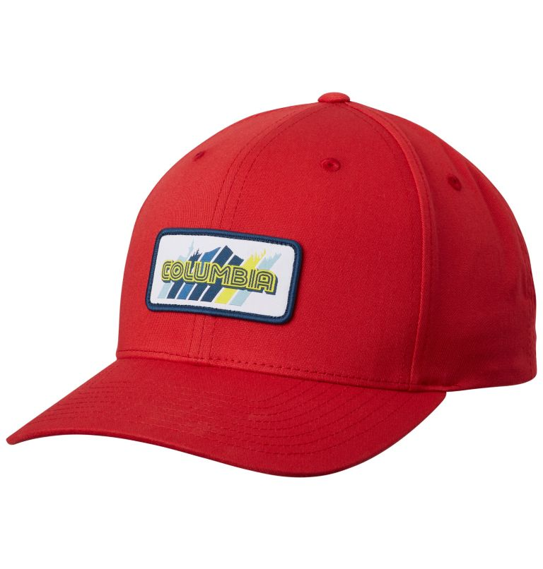 Trail Essential™ Snap Back Hat | 613 | O/S Trail Essential™ Snap Back Hat, Mountain Red Mountain Patch, front