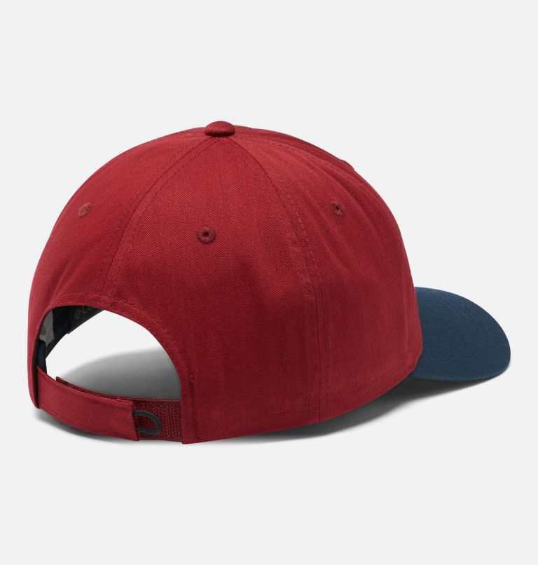 ROC™ II Hat | 665 | O/S ROC™ II Ball Cap, Red Jasper, Coll Navy, Gem Patch, back