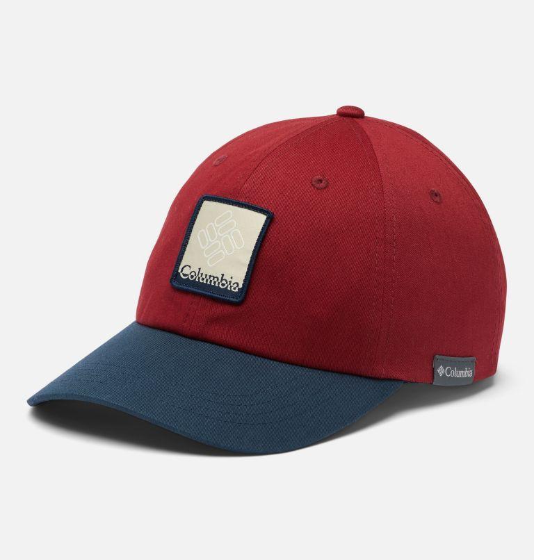 ROC™ II Ball Cap | 665 | O/S ROC™ II Ball Cap, Red Jasper, Coll Navy, Gem Patch, front