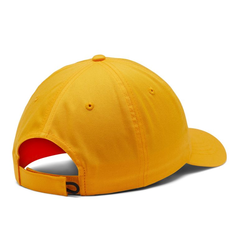 ROC™ II Hat | 790 | O/S ROC™ II Ball Cap, Bright Gold, Carnelian Red, back