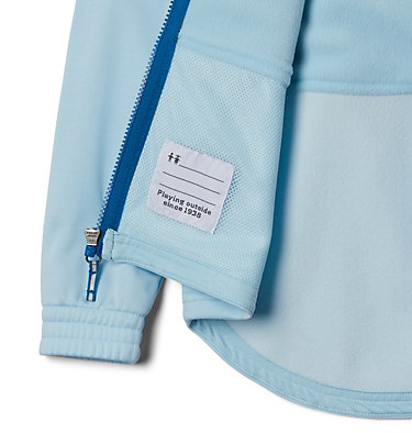 Chandail à capuchon hybride S'more Adventure™ pour jeune S'more Adventure™ Hybrid Hoodie | 030 | L, Spring Blue Heather, Dark Pool, a1