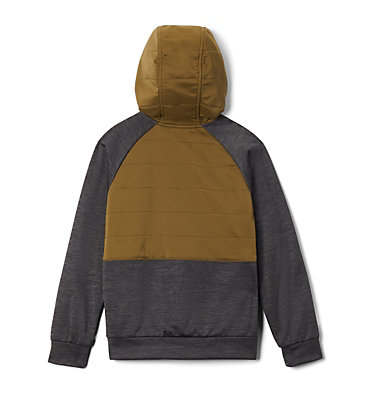 Boys' S'more Adventure™ Hybrid Hoodie S'more Adventure™Hybrid Hoodie | 023 | M, Black, New Olive, back