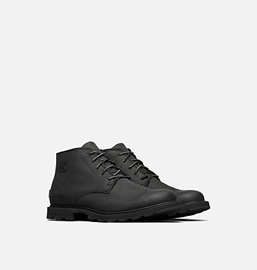Men's Madson™ Chukka Waterproof Boot  MADSON™ CHUKKA WATERPROOF | 011 | 10, Black, Black, 3/4 front