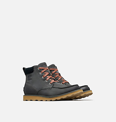 Botte Imperméable Madson™ Moc Toe Homme MADSON™ MOC TOE WATERPROOF | 028 | 15, Grill, Black, 3/4 front