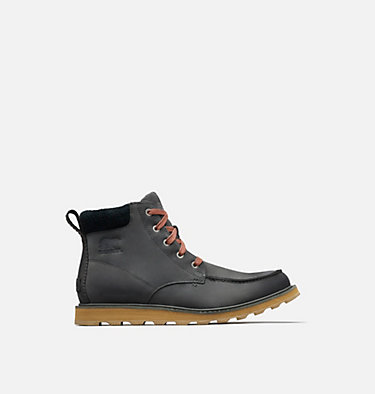 Men's Madson™ Moc Toe Waterproof Boot  MADSON™ MOC TOE WATERPROOF | 028 | 15, Grill, Black, front