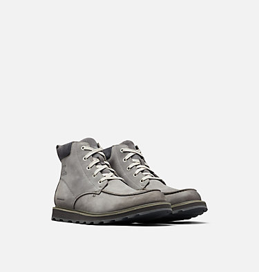 Men's Madson™ Moc Toe Boot MADSON™ MOC TOE WATERPROOF | 052 | 9.5, Quarry, 3/4 front