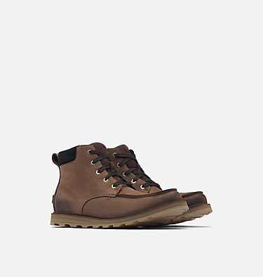 Men's Madson™ Moc Toe Boot MADSON™ MOC TOE WATERPROOF | 052 | 9.5, Bruno, Black, 3/4 front