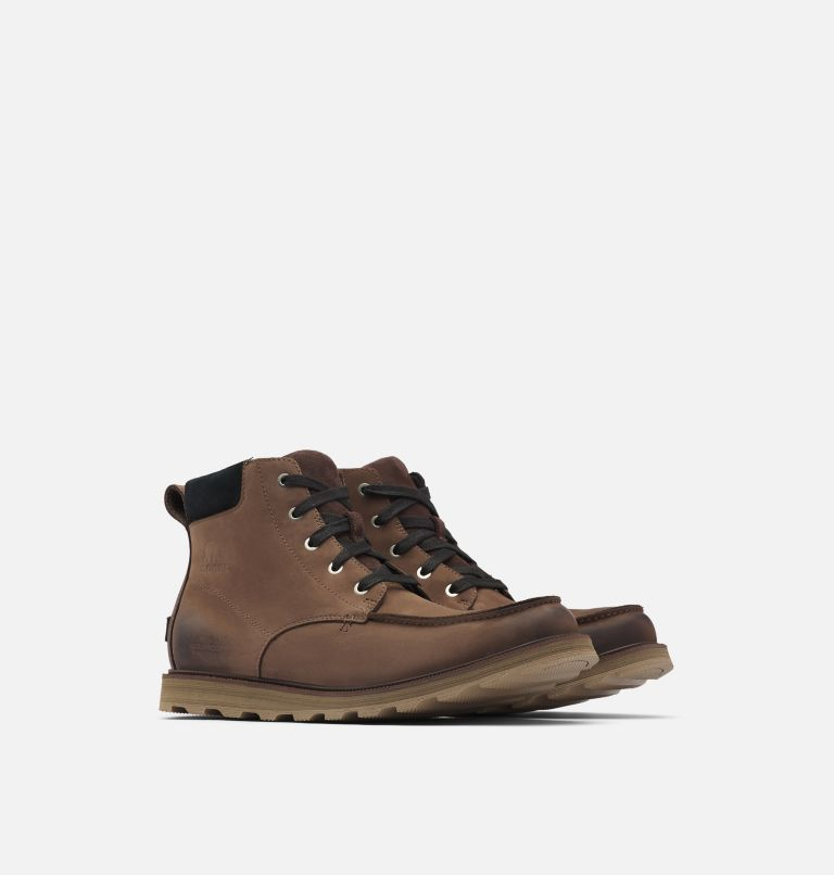 Men's Madson™ Moc Toe Boot Men's Madson™ Moc Toe Boot, 3/4 front