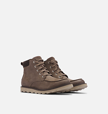 Men's Madson™ Moc Toe Boot MADSON™ MOC TOE WATERPROOF | 052 | 9.5, Major, Buffalo, 3/4 front
