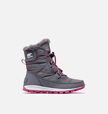 Youth Whitney™ Short Lace Boot YOUTH WHITNEY™ SHORT LACE | 574 | 2, Quarry, Ultra Pink, front
