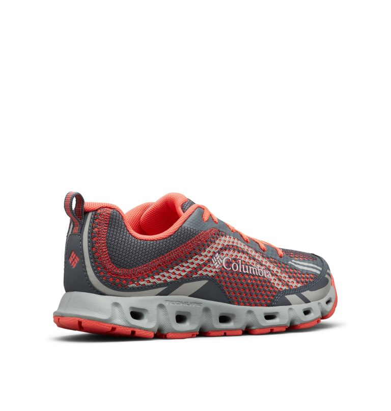 DRAINMAKER™ IV | 053 | 10.5 Women's Drainmaker™ IV Water Shoe, Graphite, Red Coral, 3/4 back