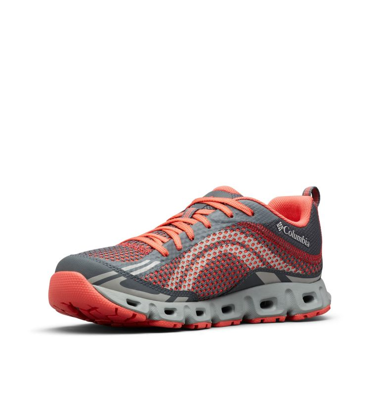 DRAINMAKER™ IV | 053 | 10.5 Women's Drainmaker™ IV Water Shoe, Graphite, Red Coral