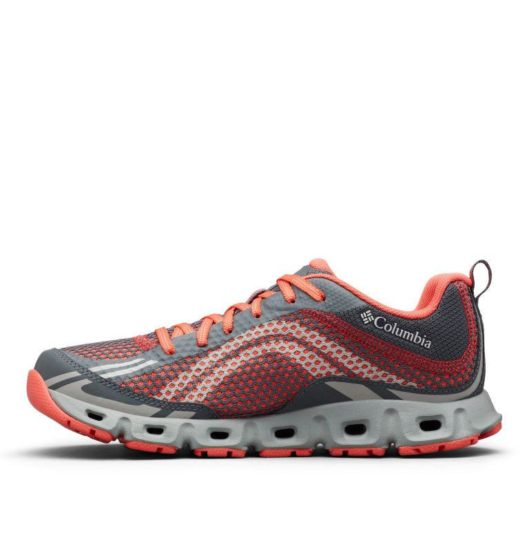 DRAINMAKER™ IV | 053 | 10.5 Women's Drainmaker™ IV Water Shoe, Graphite, Red Coral, medial