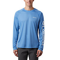 Columbia Men's Summit Sand Long-Sleeve Shirt (Medieval)