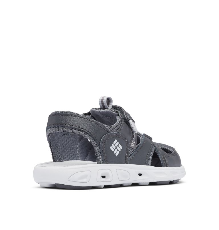 CHILDRENS TECHSUN™ WAVE | 011 | 10 Little Kids' Techsun™ Wave Sandal, Shark, Grey Ice, 3/4 back