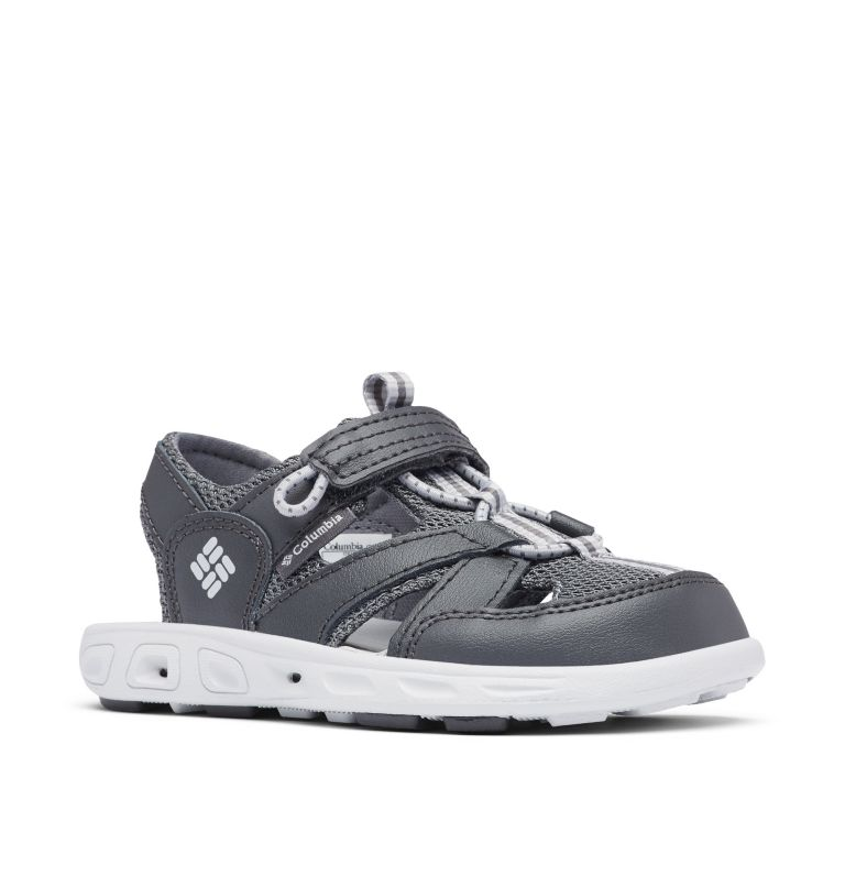 CHILDRENS TECHSUN™ WAVE | 011 | 10 Little Kids' Techsun™ Wave Sandal, Shark, Grey Ice, 3/4 front