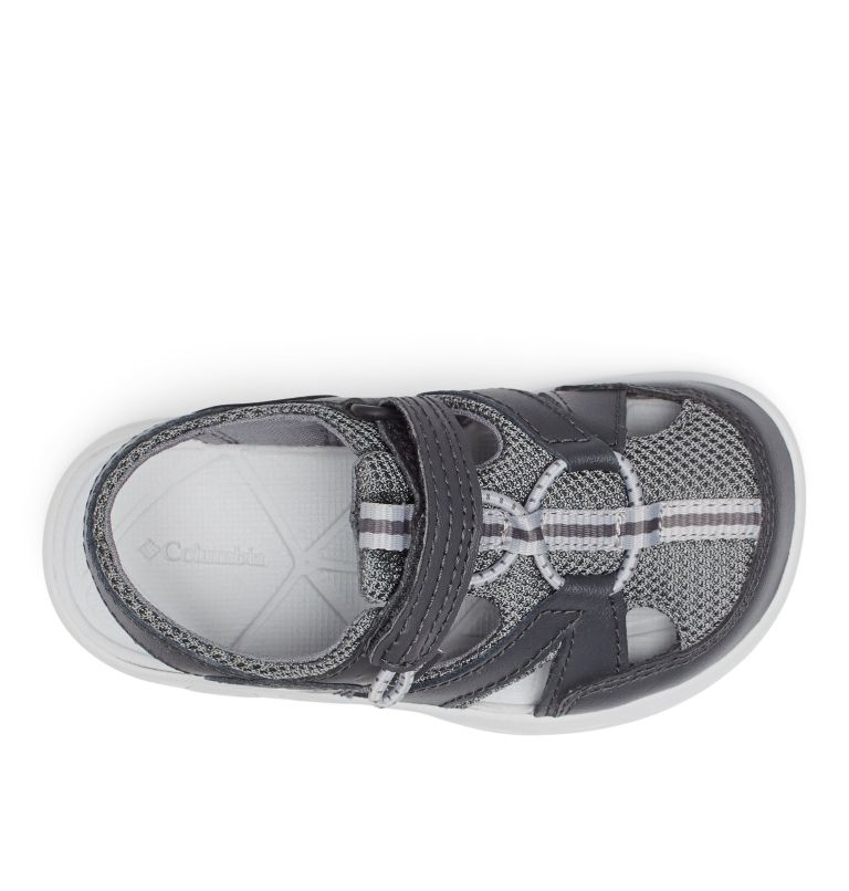 CHILDRENS TECHSUN™ WAVE | 011 | 10 Little Kids' Techsun™ Wave Sandal, Shark, Grey Ice, top