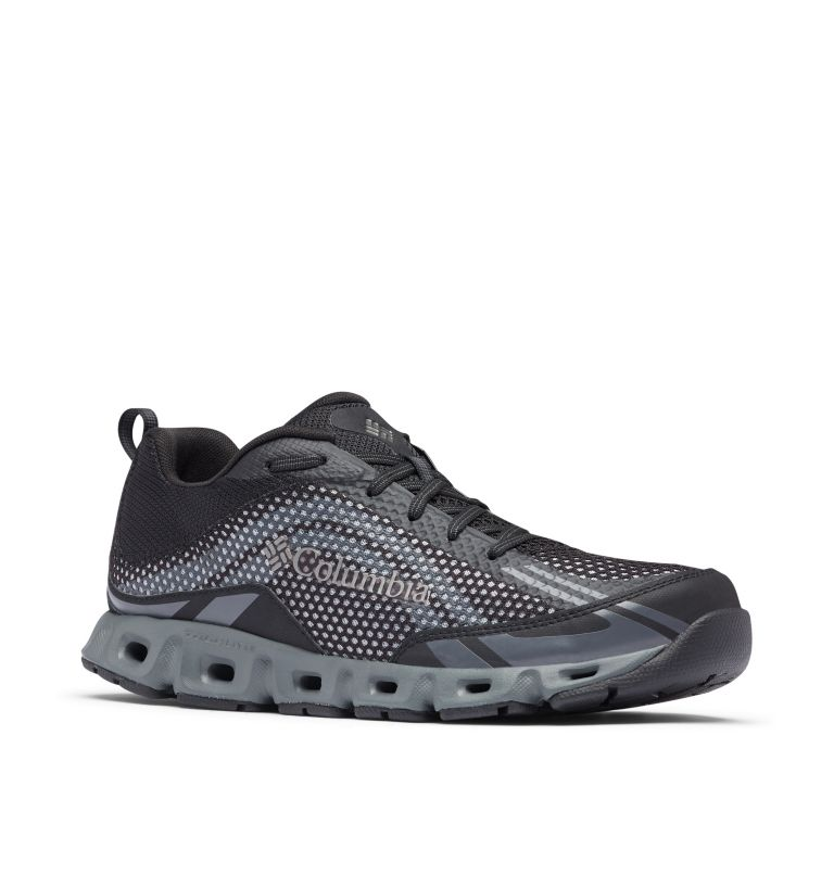 DRAINMAKER™ IV | 010 | 10 Zapato Drainmaker™IV para hombre, Black, Lux, 3/4 front