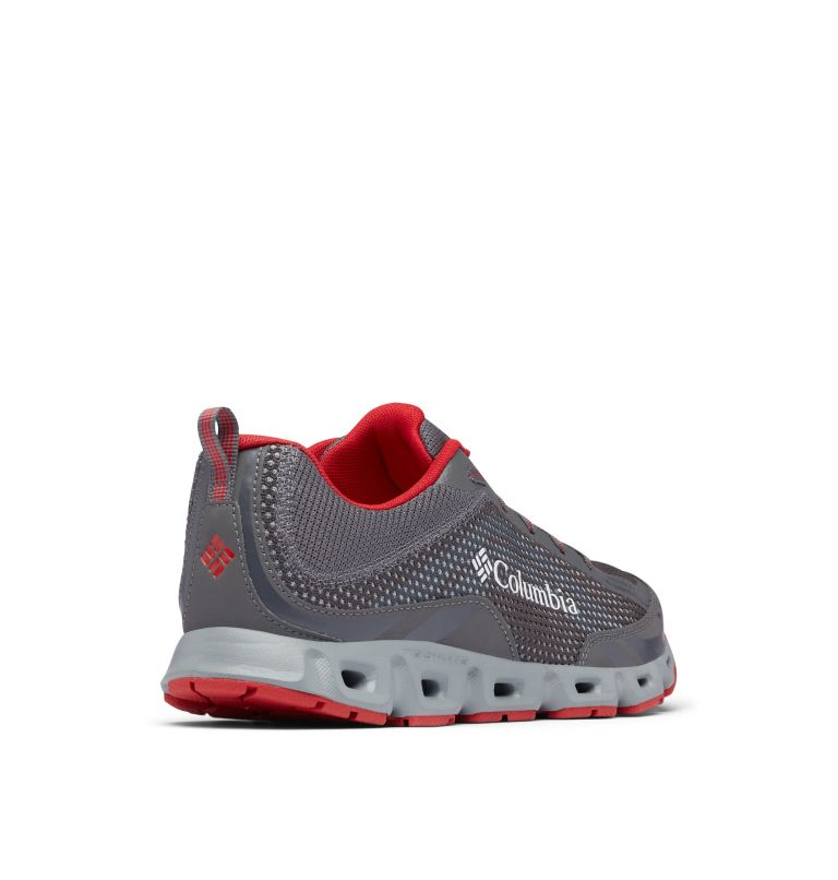 DRAINMAKER™ IV | 023 | 7.5 Men's Drainmaker™ IV Water Shoe, City Grey, Mountain Red, 3/4 back