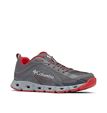 Men's Drainmaker™ IV Water Shoe DRAINMAKER™ IV | 010 | 10, City Grey, Mountain Red, 3/4 front