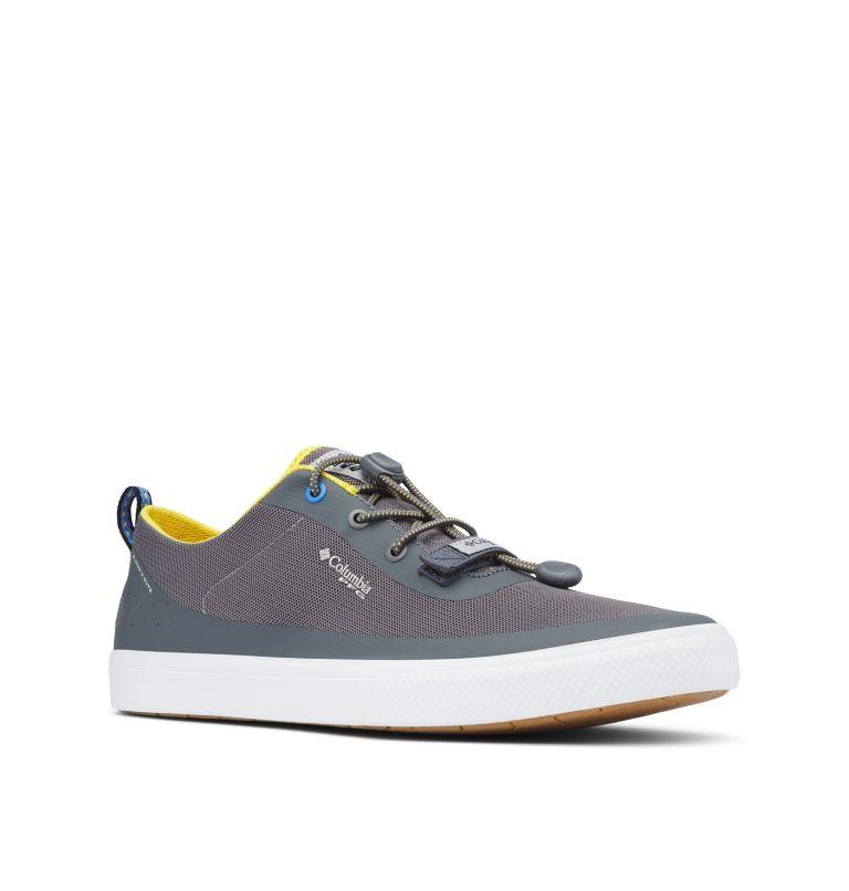 DORADO™ CVO PFG | 033 | 15 Men's Dorado™ CVO PFG Shoe, Ti Grey Steel, Electron Yellow, 3/4 front