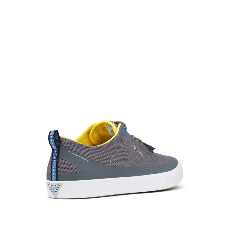 DORADO™ CVO PFG WIDE | 033 | 10 Men's Dorado™ CVO PFG Shoe - Wide, Ti Grey Steel, Electron Yellow, 3/4 back