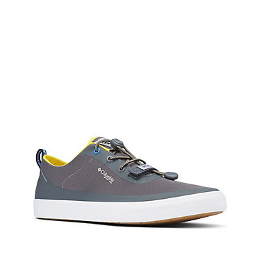 Men's Dorado™ CVO PFG Shoe - Wide DORADO™ CVO PFG WIDE | 033 | 10, Ti Grey Steel, Electron Yellow, 3/4 front