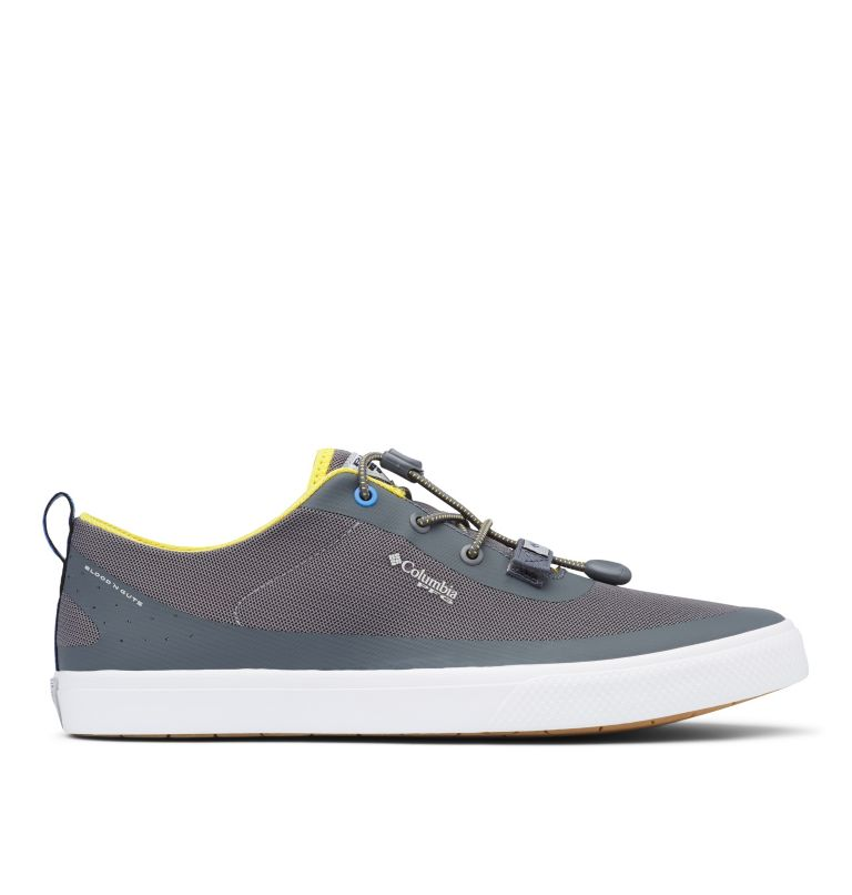 DORADO™ CVO PFG WIDE | 033 | 8 Men's Dorado™ CVO PFG Shoe - Wide, Ti Grey Steel, Electron Yellow, front