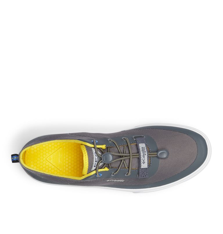 DORADO™ CVO PFG WIDE | 033 | 8 Men's Dorado™ CVO PFG Shoe - Wide, Ti Grey Steel, Electron Yellow, top