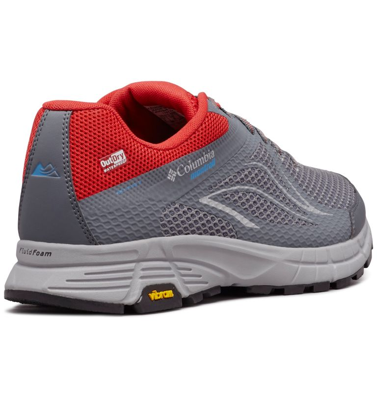 MOJAVE TRAIL™ II OUTDRY™ | 033 | 7 Scarpe da trail running Mojave Trail II OutDry™ da uomo, Ti Grey Steel, Hyper Blue, 3/4 back