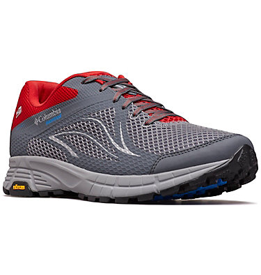 Men's Mojave Trail II OutDry™ Trail Running Shoe MOJAVE TRAIL™ II OUTDRY™ | 011 | 13, Ti Grey Steel, Hyper Blue, 3/4 front