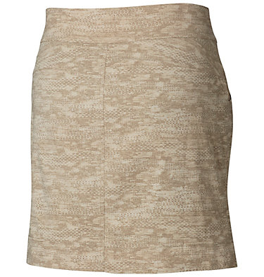 Women's Anytime Casual™ Print Skort - Plus Size Anytime Casual™ Prt Skort | 337 | 3X, Tusk Japanese Micro Print, back