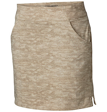 Women's Anytime Casual™ Print Skort - Plus Size Anytime Casual™ Prt Skort | 337 | 3X, Tusk Japanese Micro Print, front