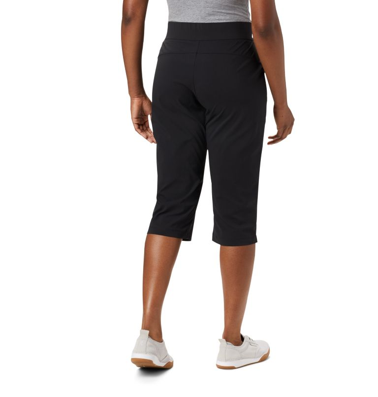 Anytime Casual™ Capri | 010 | XS Women's Anytime Casual™ Capri, Black, back